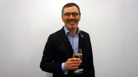 Dr. Christian Kuhnt ist glücklich © Copyright Karl-Heinz Hänel