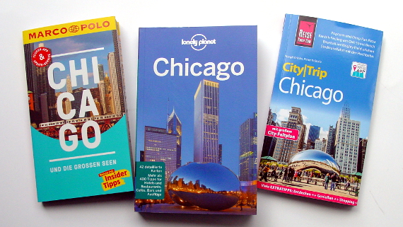 Guides für Chicago © Copyright Verlage & Karl-Heinz Hänel