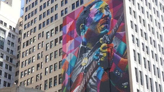 Stadt des Blues Chicago © Copyright Karl-Heinz Hänel