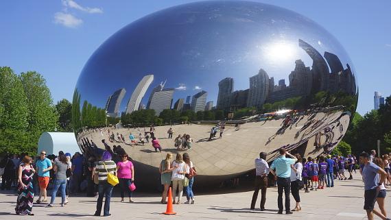 Millennium Park Chicago © Copyright Karl-Heinz Hänel