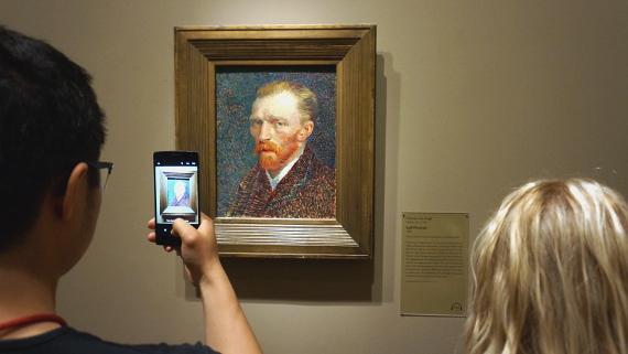 Van Gogh im Art Institut von Chicago © Copyright Karl-Heinz Hänel