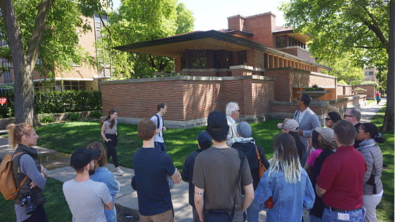 The Robie House - Chicago © Copyright Karl-Heinz Hänel
