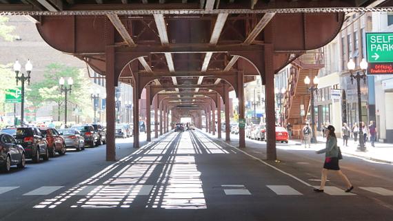 Im Loop - Chicago © Copyright Karl-Heinz Hänel