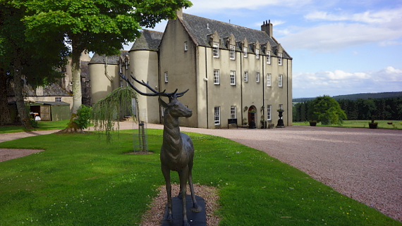 Macdonald Pittorie House - Scotland © Copyright Karl-Heinz Hänel