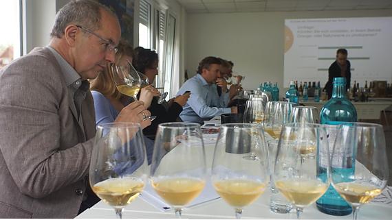 Weinverkostungs-Seminar Deutsches Wein Institut © Copyright Karl-Heinz Hänel