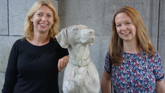 Andrea von VisitBritain & Juliane von VisitScotland © Copyright Karl-Heinz Hänel