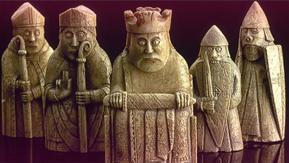 faszinierende Schachfiguren © Copyright Visit Scotland