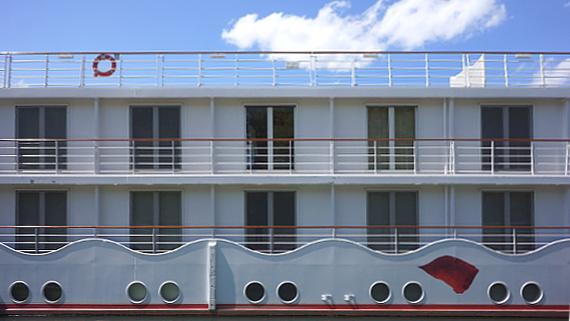 Flusskreuzfahrtschiff der A-ROSA-Flotte © Copyright Karl-Heinz Hänel