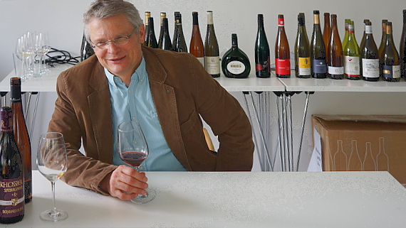 Günther Birkenstock Weinverkostungs-Seminar © Copyright Karl-Heinz Hänel