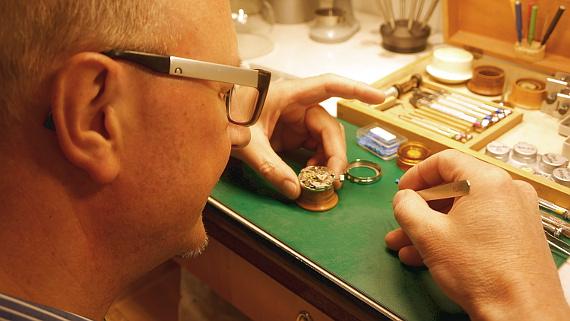 Uhrmachermeister Armin Mantei © Copyright by Karl-Heinz Hänel