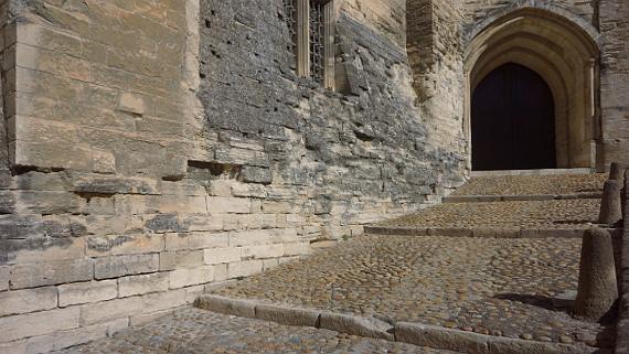 Der Palast war im Mittelalter deutlich bunter als wir es uns vorstellten.