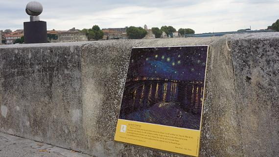 Mit A-ROSA in Arles © Copyright Karl-Heinz Hänel