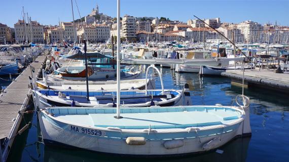 Mit A-ROSA in Marseille © Copyright Karl-Heinz Hänel