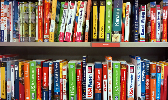 Viele Namen, doch in wenigen Verlagsgruppen konzentriert, dazwischen der Michael Müller Verlag © Copyright by Karl-Heinz Hänel