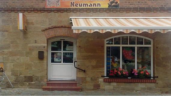 Konditorei Neuman in Nebra © Copyright Karl-Heinz Hänel