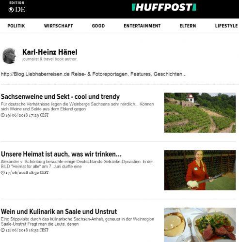 meine HuffPost Reportagen © Copyright Karl-Heinz Hänel