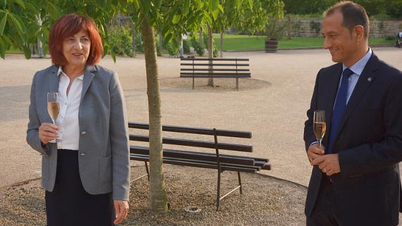 Geschäftsführerin Sonja Schilg & Jürgen Aumüller © Copyright Karl-Heinz Hänel