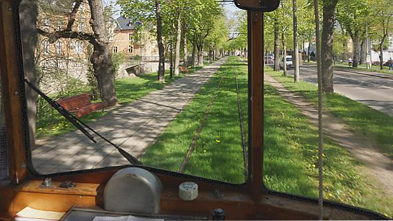 Naumburger Straßenbahn © Copyright Karl-Heinz Hänel