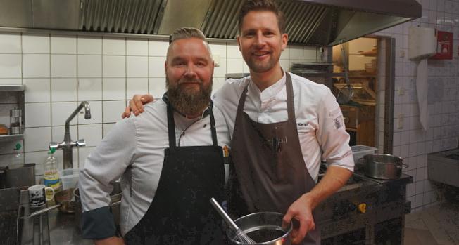 Chef Dirk Werner und Michael Kempf © Copyright Karl-Heinz Hänel
