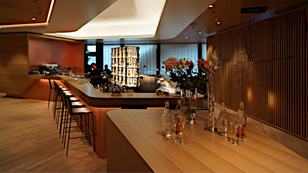 Swiss Air First Class Lounge in Zürich © Copyright Karl-Heinz Hänel