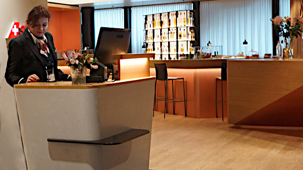 Swiss Air First Class Lounge in Zürich © Copyright Karl-Heinz Hänel