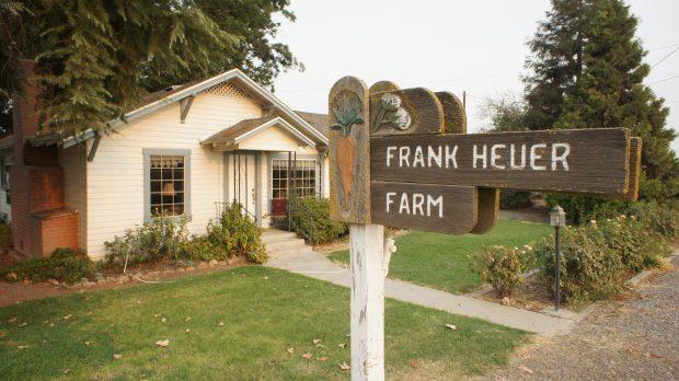 Frank Heuer Farm in Kalifornien © Copyright Karl-Heinz Hänel